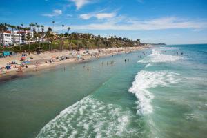Coastline of San Clemente